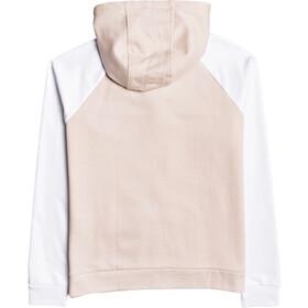 Roxy After The Fall Camiseta Polar Mujer, rosa/blanco